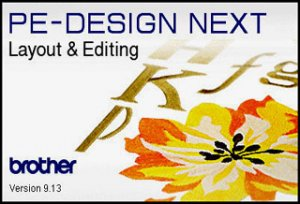Brother PE-Design Next v9.13
