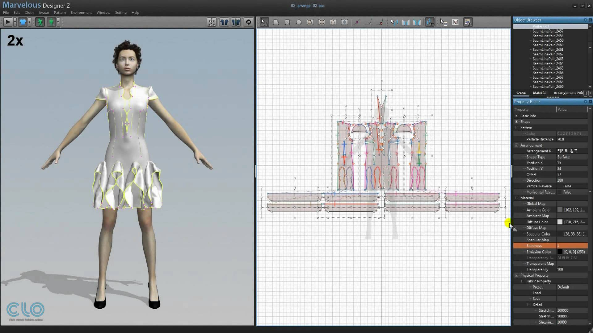 Fashion design and pattern making software 39