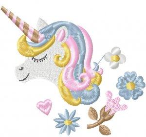 Единорог Юки от Hatch Embroidery.