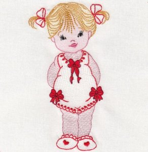 Новый бесплатный файл - Artistic Designs Little Baby Girl