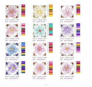 Новый бесплатный файл - Цветочная коллекция