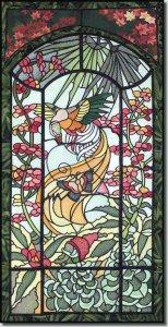 Новый бесплатный файл - Stained Glass Pheasant