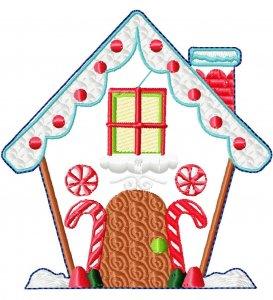 Новый бесплатный файл -  Hatch Gingerbread Houses