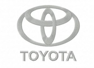 Новый бесплатный файл - Логотип TOYOTA