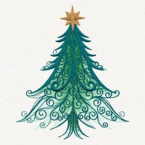 Новый бесплатный файл - Christmas Magic-Tree от Urban Threads