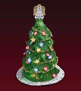 Новый бесплатный файл - Christmas Tree with Ornaments