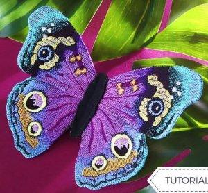 Новый бесплатный файл - Fantastical Butterfly