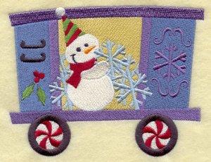 Новый бесплатный файл - A Christmas Snowman Train