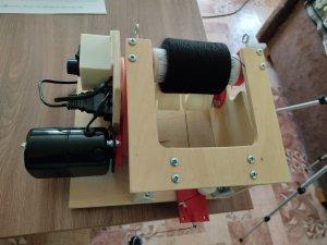 Электрическая моталка на втулку
